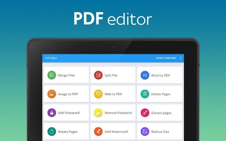Download APK: PDF converter pro & PDF editor – pdf merge v6.8 [Paid]