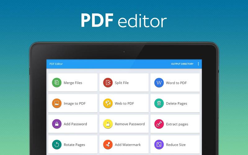 PDF converter pro & PDF editor - pdf merge Screenshot 6