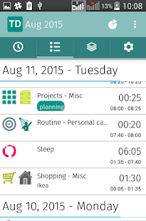 Time management GTD  - TDouble- screenshot thumbnail