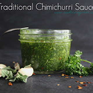 Traditional Chimichurri Sauce Recipe