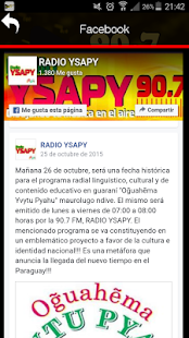 Radio Ysapy Fm 90.7- screenshot thumbnail