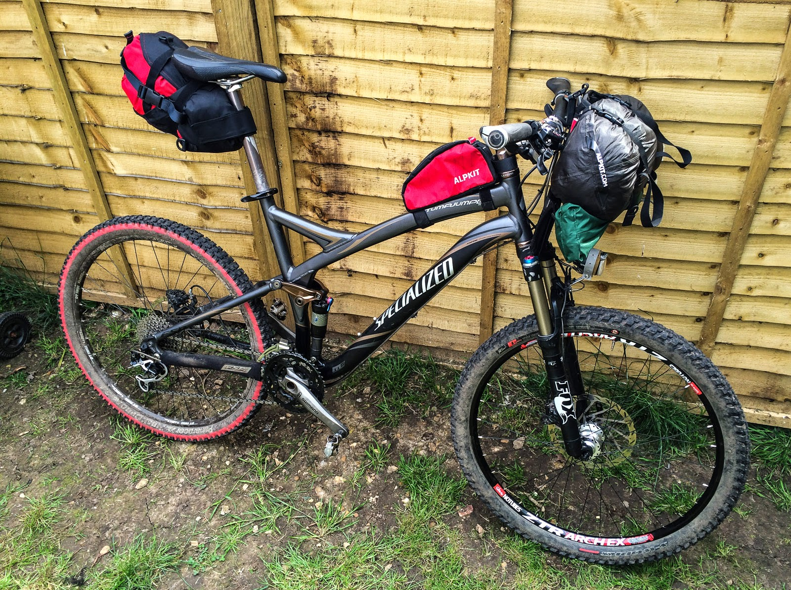 Photo: All packed and ready to go get ridiculously muddy!