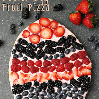 Easter Egg Fruit Pizza