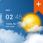 Transparent clock weather Pro v0.91.01.11