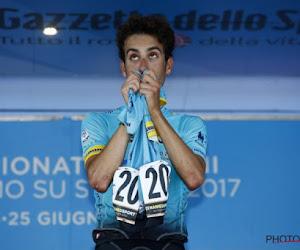 Prachtig: Aru werd kampioen in shirt Scarponi
