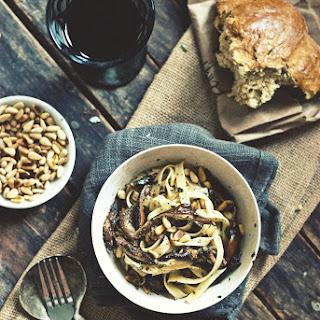 Wild Mushroom Fettuccine