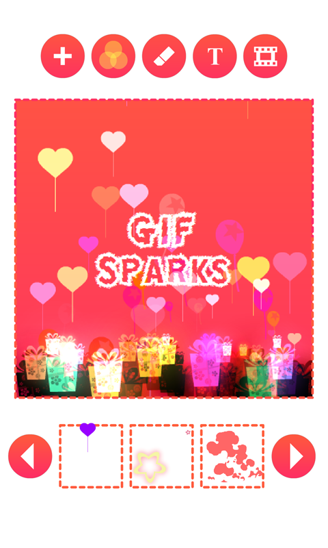 Gif Sparks- screenshot
