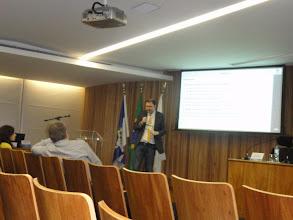 Photo: Palestra do Prof. Andres