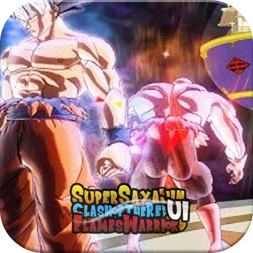Super Sayajin UI Kakaroto VS Red Flame Warrior