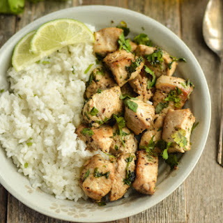 Cilantro Lime Chicken Weight Watchers Friendly!.