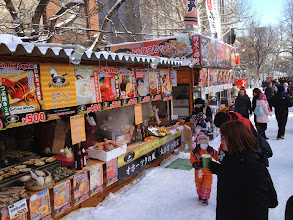 Photo: Food stalls!