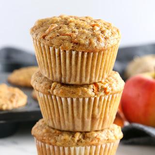 Apple Carrot Ginger Muffins Recipe