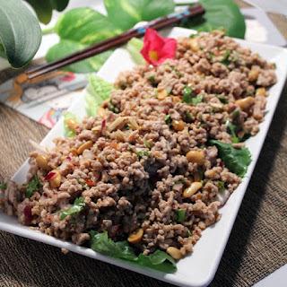Nam Sod or Thai Pork Salad