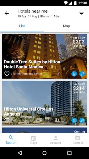 Hilton Honors 3.1.1 screenshots 3