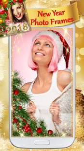 New Year Greeting Card Maker with Photo Frames - náhled