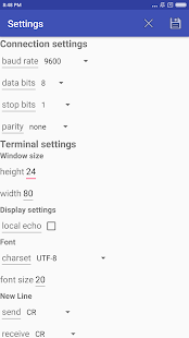 COM RS232 USB Terminal Demo - náhled