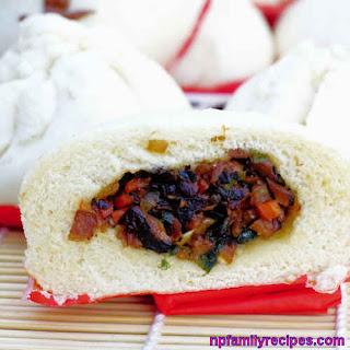 Vegetarian Steamed Bun Recipe (BáNh Bao Chay) Recipe