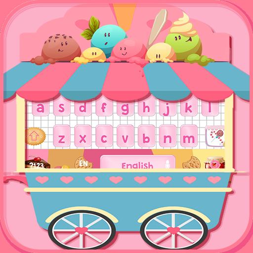 Sweet candy keyboard