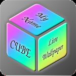 My Name Cube Live Wallpaper,Text Wallpaper Maker 1.3