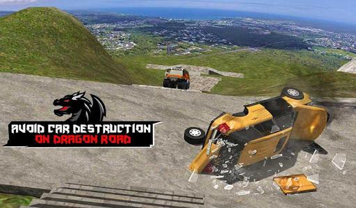Cruiser Car Stunts: Dragon Road Driving Simulator apktram screenshots 18