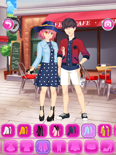 Anime Couples Dress Up Game android2mod screenshots 9