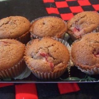 Rhubarb and Strawberry Muffins Recipe