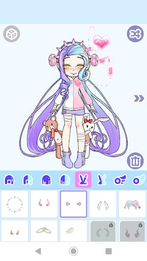 Magical Girl Dress Up: Pastel Monster Avatar 1.0.2 3