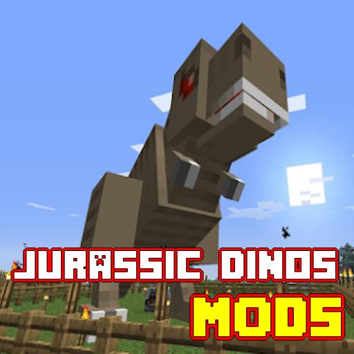 Jurassic Dino Mod MCPE