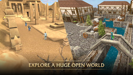 Ancients Reborn: 3D - MMORPG - MMO - RPG screenshots 3