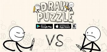 Jugar a Draw puzzle: sketch it gratis en la PC, así es como funciona!