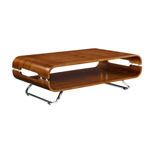 Jual Curve Walnut JF302 Coffee Table