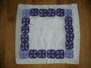 Photo: pokus o polštář-to bude asi běh na dlouhou trat,ale snažím se...