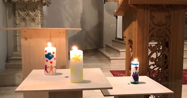 Friedenskerzen am 2. Advent, St. Johann - Riemsloh