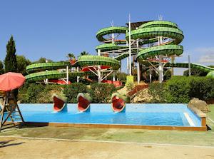 Leisure and amusement park - Aqualand El Arenal
