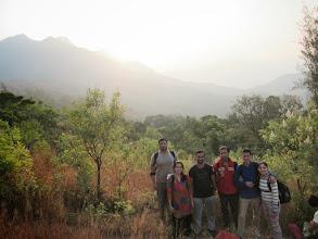 Photo: Group snap at sunrise