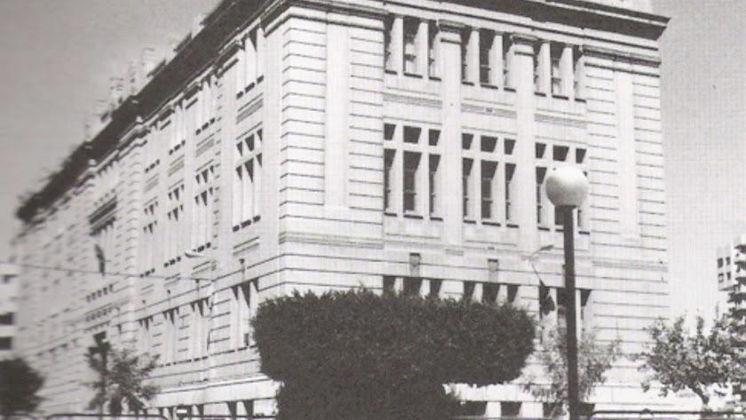 Antigua Escuela de Artes y Oficios actual IES Celia Viñas