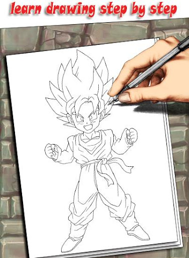 How To Draw DBZ Characters 1.3 screenshots 3