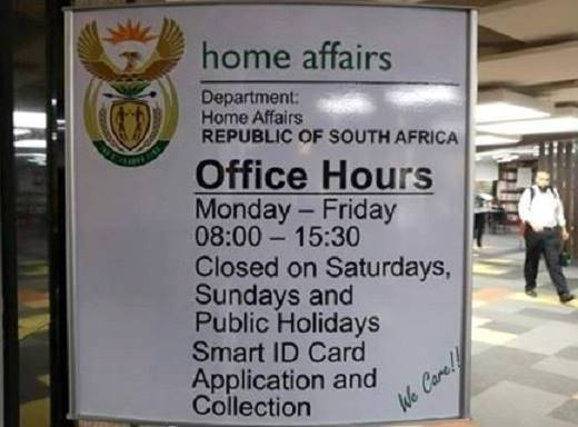 Home Affairs is having issues with the Live Capture system for passports and smart ID cards. File photo.