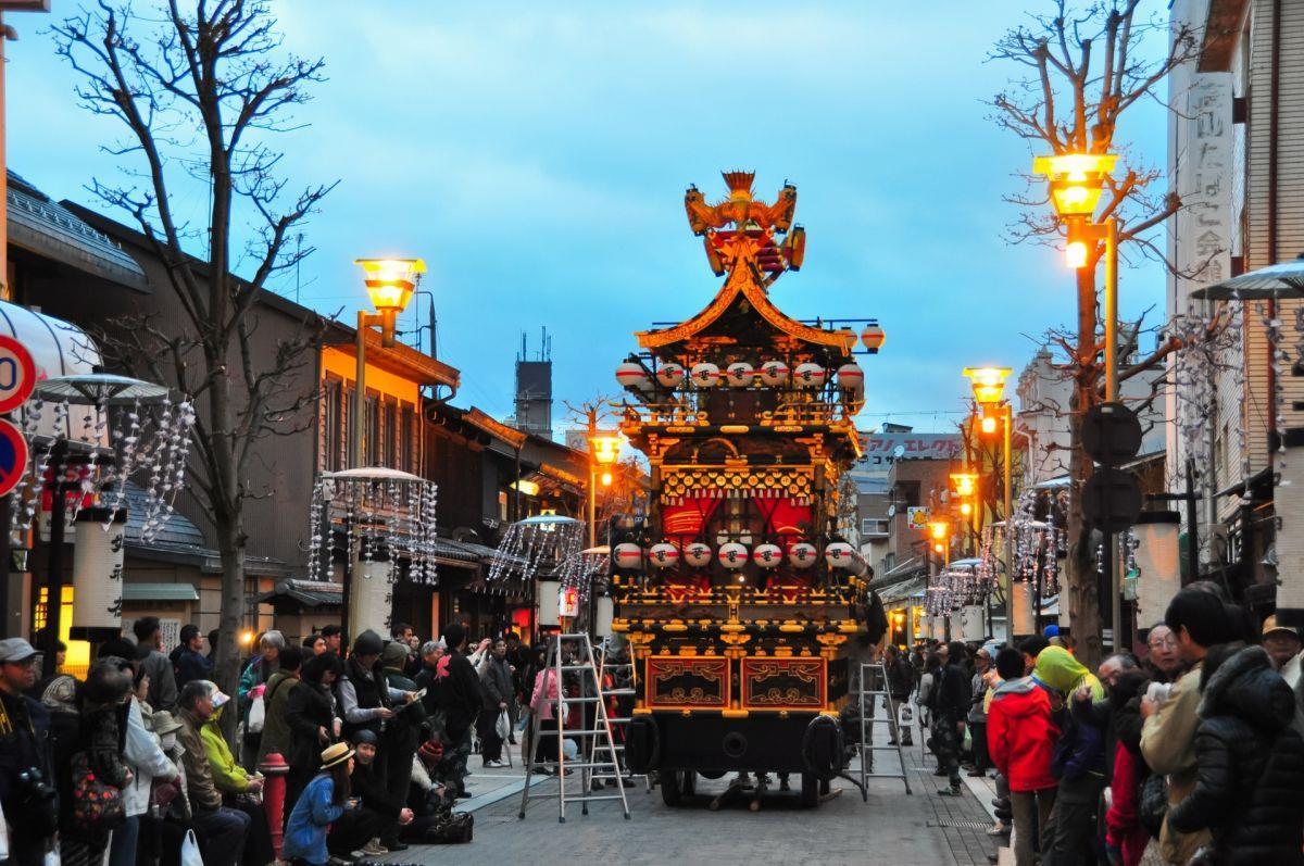 Đến Nhật Bản vào mùa thu du khách sẽ được tham gia nhiều lễ hội đặc sắc