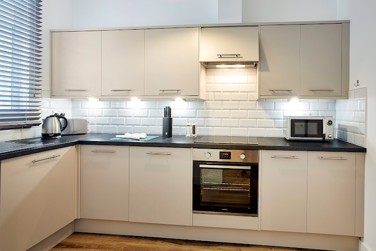 Fully equipped kitchen at Burkhardt Hall - Swindon