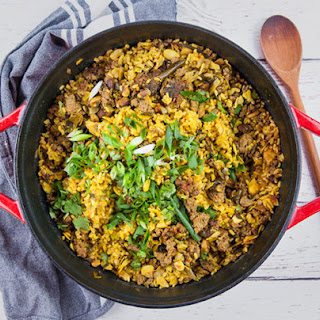 Brown Rice Biryani.