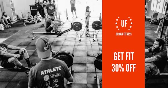 Urban Fitness Get Fit - Facebook Event Cover Template