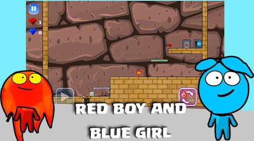 Red Man Blue Gril screenshot 4