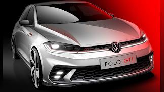 Volkswagen muestra los primeros bocetos del renovado Polo GTI