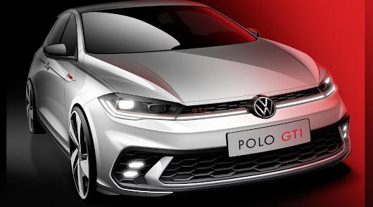 Volkswagen Vera Import muestra los primeros bocetos del renovado Polo GTI