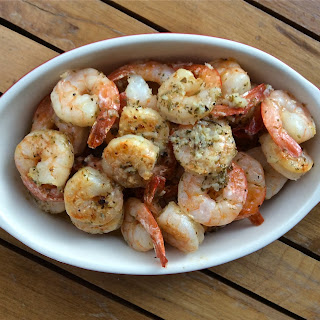 Simple Shrimp Scampi.