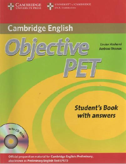 Cambridge objective pet ( teachers book).