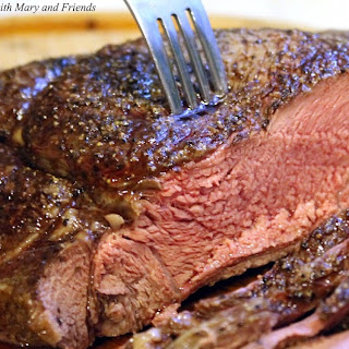 Marinaded Sirloin Tip Roast.