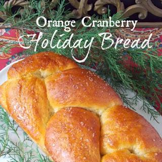 Orange Cranberry Holiday Bread