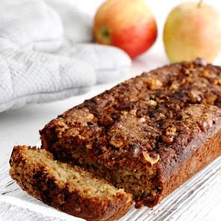 Healthier Apple Cinnamon Bread.